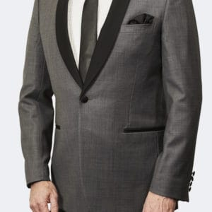 Trevor West Bond Tuxedo / Dinner Jacket in Grey