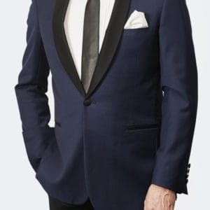 Trevor West Bond Tuxedo / Dinner Jacket in Blue